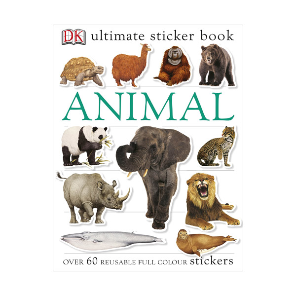 Ultimate Stickers : Animal Ultimate Sticker Book (Paperback)