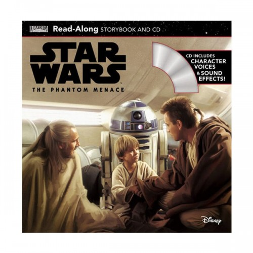 Star Wars: The Phantom Menace Read-Along Storybook and CD (Book & CD)
