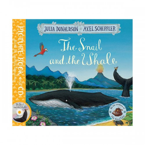 The Snail and the Whale (Book & CD, 영국판)