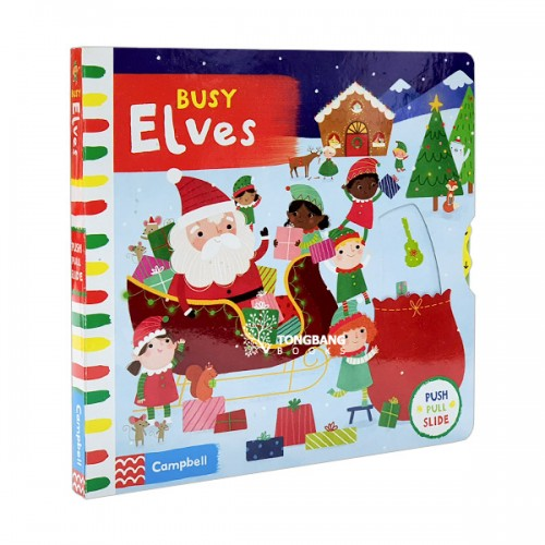 Busy Books Series : Busy Elves (Board book, 영국판)