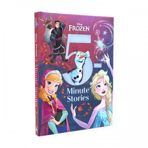 [정가인하] 5-Minute Stories : Frozen (Hardcover)