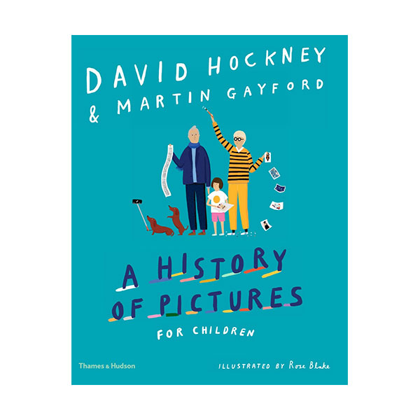 A History of Pictures for Children : David Hockney (Hardcover)