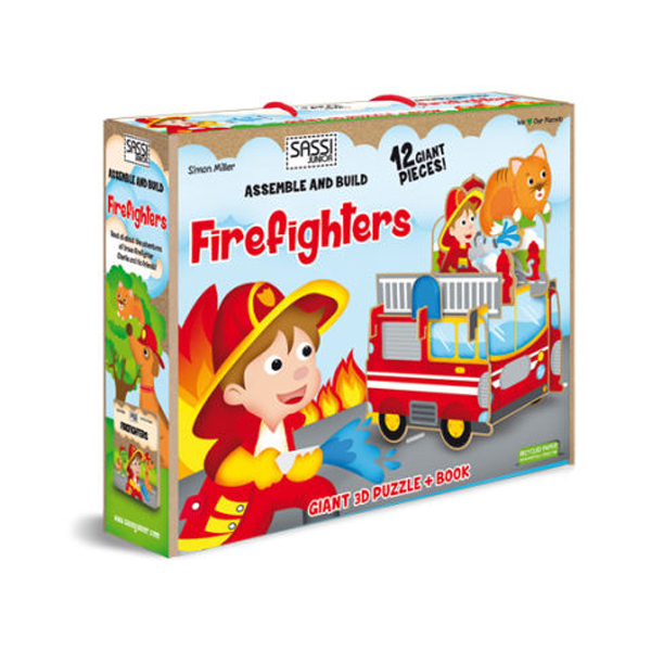 Assemble and Build ? Firefighters (New Edition, Hardcover)