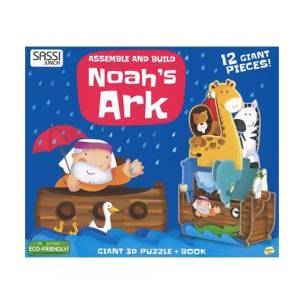 Assemble and Build ? Noah's Ark (New Edition, Hardcover)