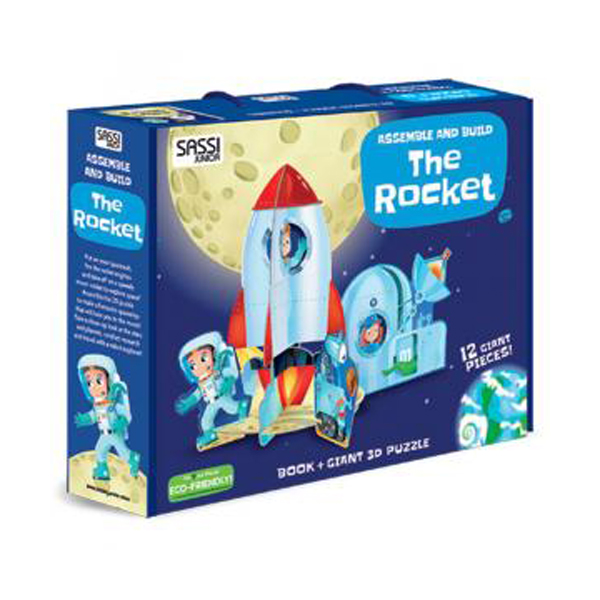 Assemble and Build ? The Rocket (Hardcover)