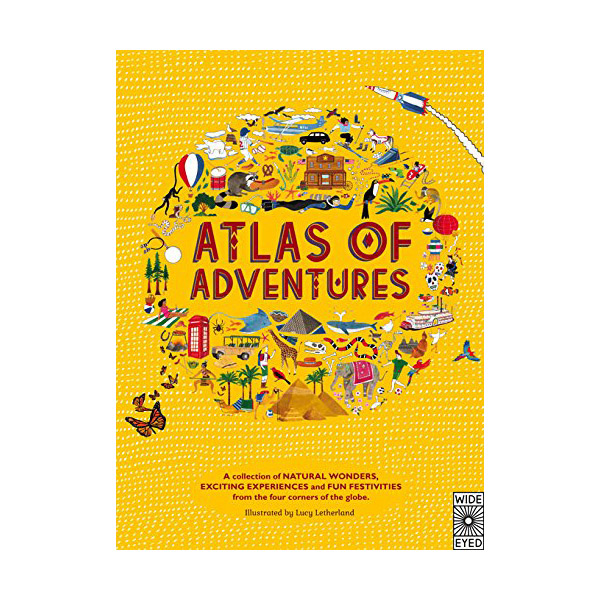 Atlas of Adventures (Hardcover, 영국판)