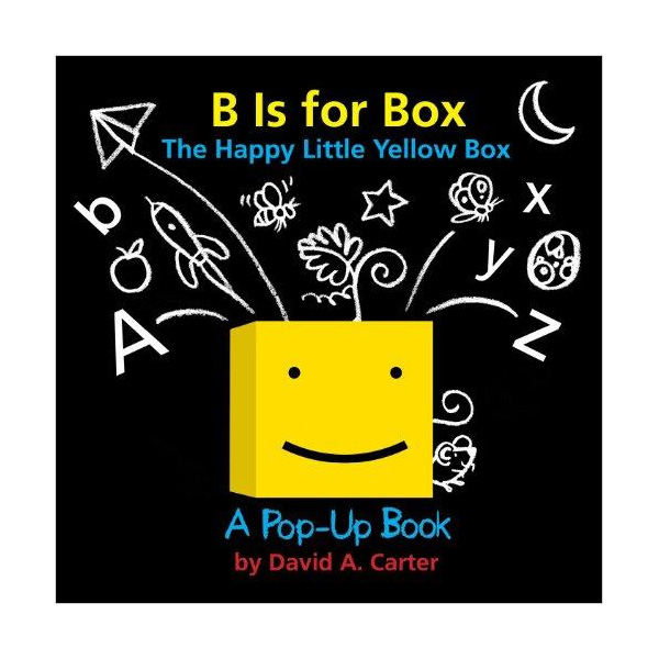 B Is for Box : The Happy Little Yellow Box : A Pop-Up Book (Hardcover,Pop up)