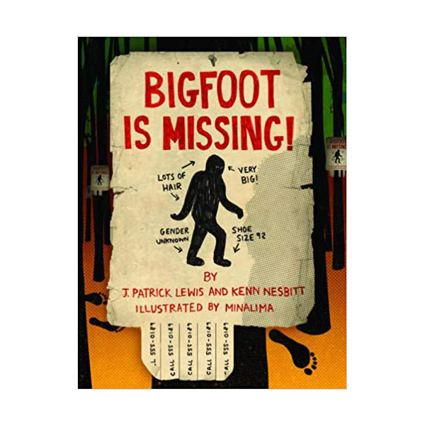 Bigfoot is Missing! (Hardcover)