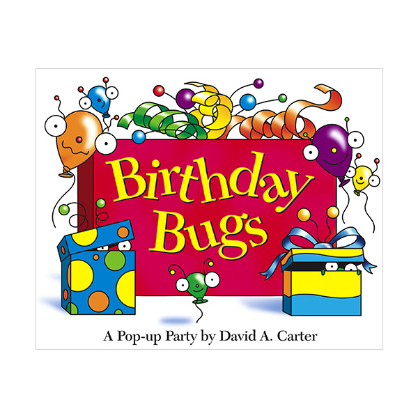 Birthday Bugs : A Pop-Up Book (Hardcover,Pop up)