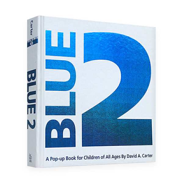 Blue 2 : A Pop-up Book for Children of All Ages (Hardcover,Pop up)
