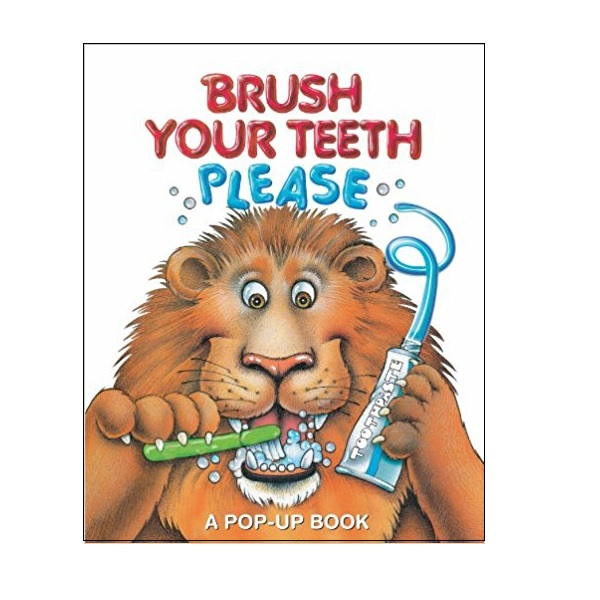 [베스트★] Brush Your Teeth, Please : A Pop-up Book (Hardcover,Pop-up)