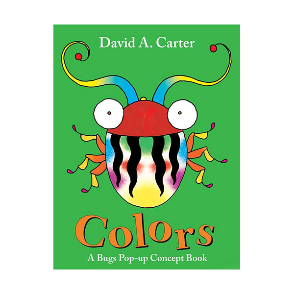 Colors : A Bugs Pop-Up Concept Book (Pop-Up,Hardcover)