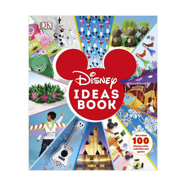Disney Ideas Book : More than 100 Disney Crafts, Activities, and Games (Hardcover, 영국판)