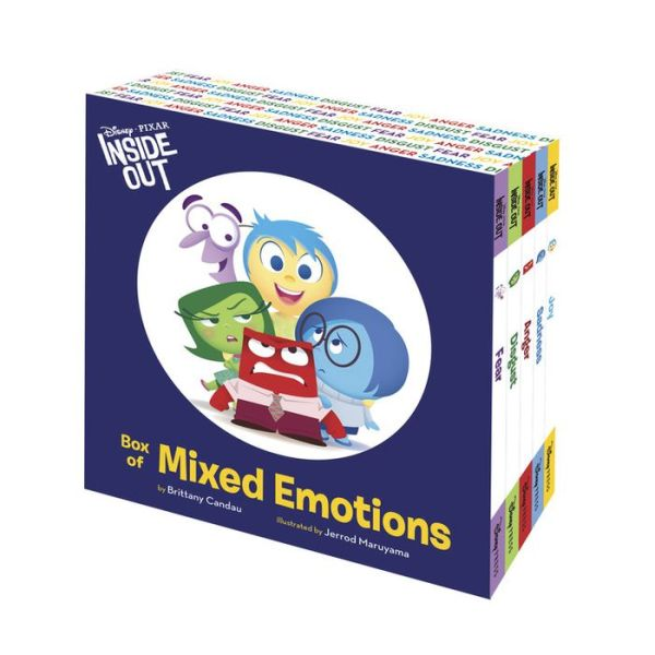 Disney Pixar Inside Out : Inside Out Box of Mixed Emotions (Hardcover)