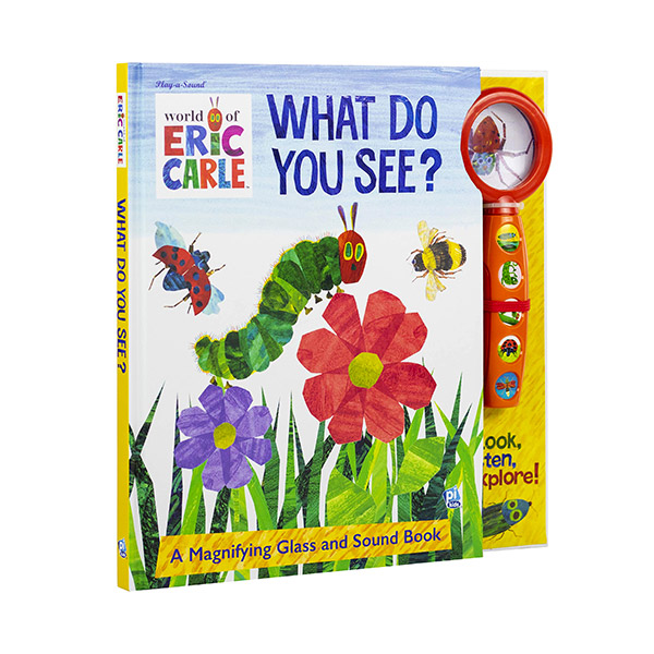 Eric Carle : What Do You See? (Hardcover,Sound Book)