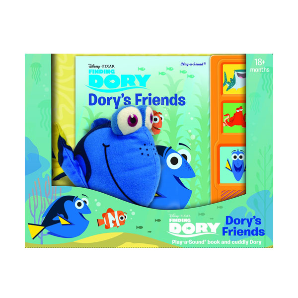 Finding Dory : Dory's Friends Play-a-Sound Book and Cuddly Dory (Hardcover, Sound Book)
