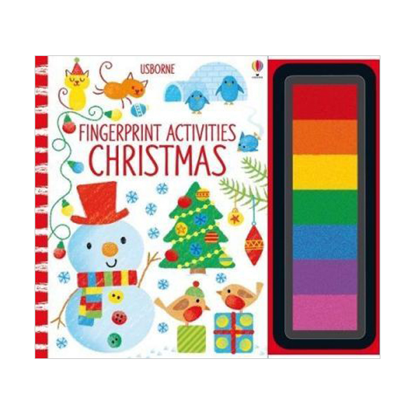 Fingerprint Activities Christmas (Hardcover, 영국판)