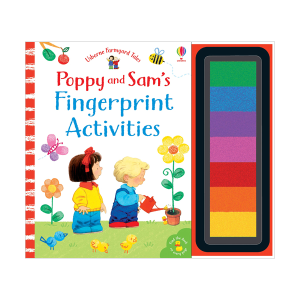 Fingerprint Activities Poppy and Sam (Hardcover, 영국판)