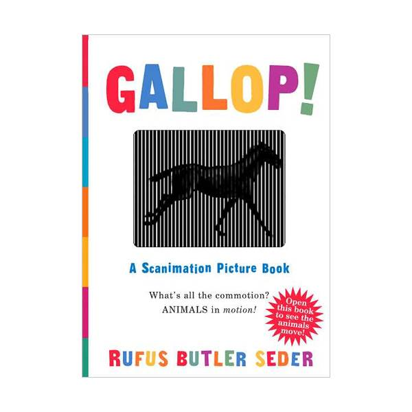 GALLOP : A Scanimation Picture Book (Hardcover)