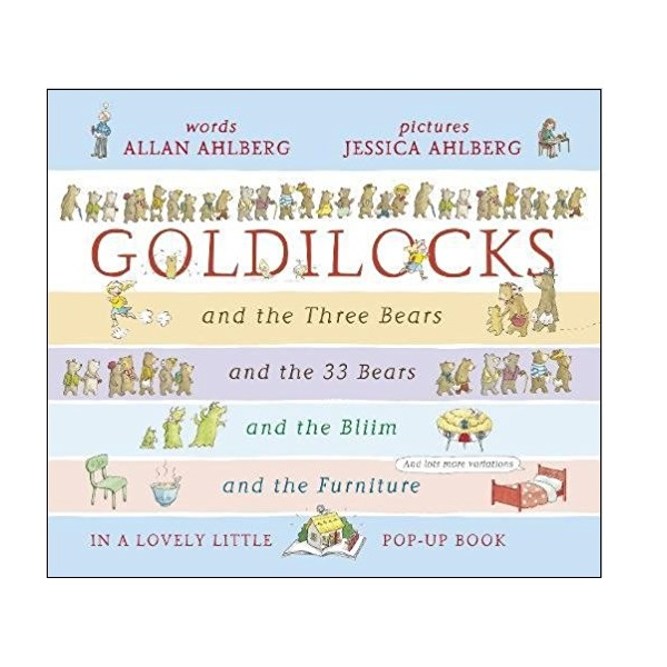 Goldilocks : POP-UP Book (Hardcover, Pop-up)