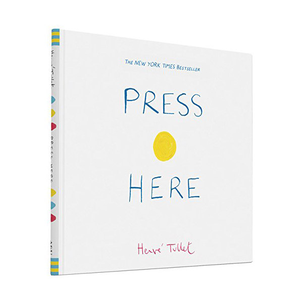 Herve Tullet : Press Here (Hardcover)