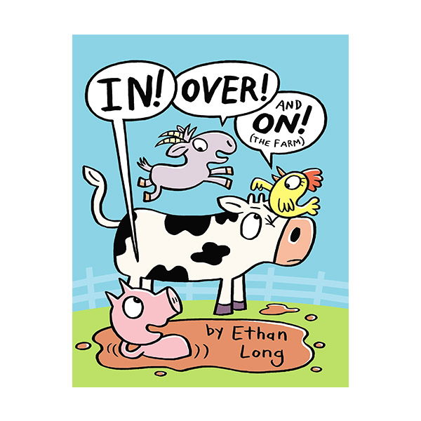 In, Over and On the Farm (Hardcover)