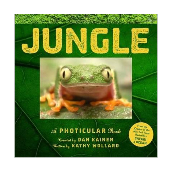 Jungle : A Photicular Book (Hardcover)