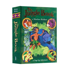 Jungle Book : A Pop-up Adventure [정글북 팝업북] (Hardcover, Pop-Up)