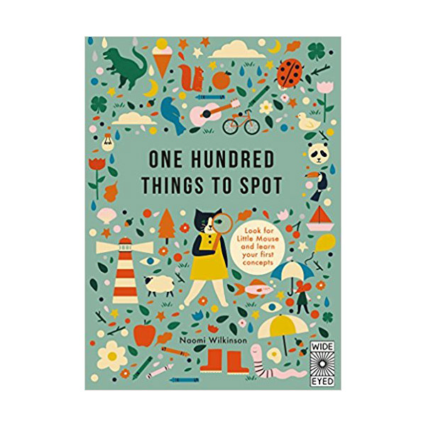 One Hundred Things to Spot : A First Handwriting Book (Hardcover)