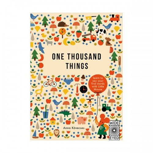 Learn with Little Mouse : One Thousand Things (Hardcover, 영국판)