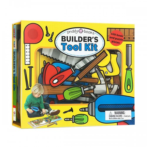 Let's Pretend : Builder's Tool Kit (Board book)