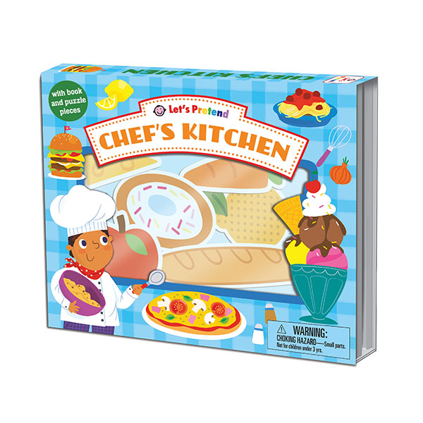Let's Pretend : Chef's Kitchen (Board book)