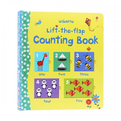 Lift the Flap Counting Book (Board book, 영국판)