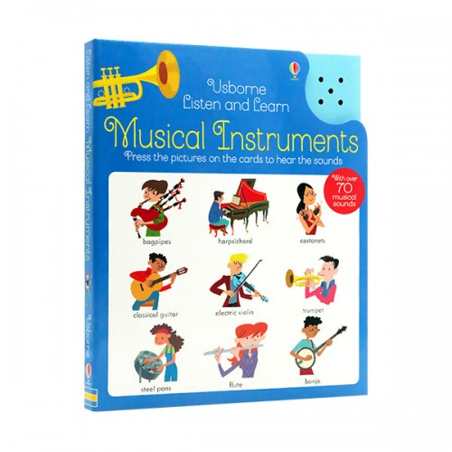 Listen and Learn : Musical Instruments (Hardcover, 영국판)