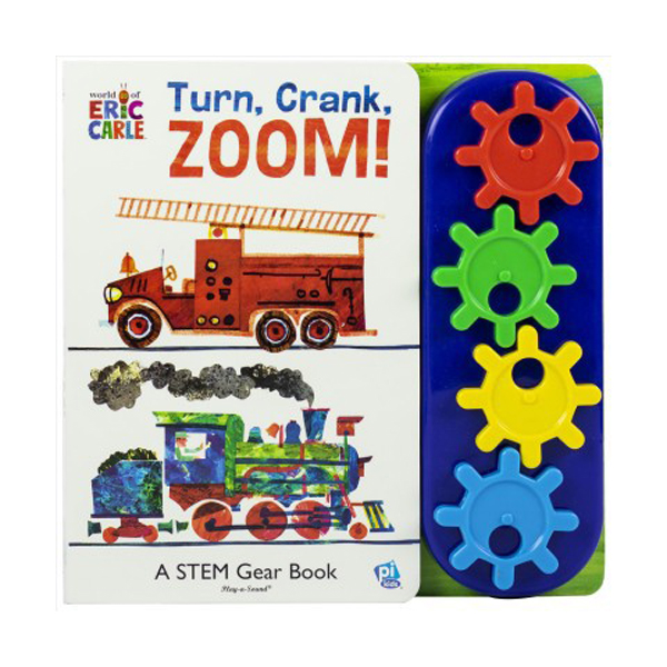 Little Gear Book Eric Carle : Turn Crank Zoom (Hardcover)