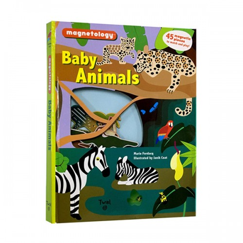 ★키즈코믹콘★Magnetology : Baby Animals (Hardcover)