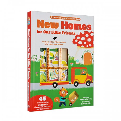 ★키즈코믹콘★Magnetology : New Homes For Our Little Friends (Hardcover)