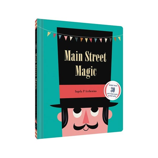 Main Street Magic (Hardcover, Flaps & Pop-Up)