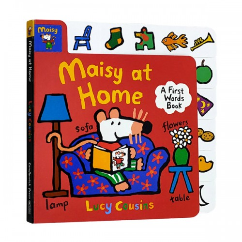 Maisy at Home : A First Words Book (Board book)