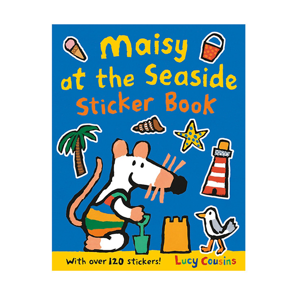 Maisy at the Seaside Sticker Book (Paperback, 영국판)