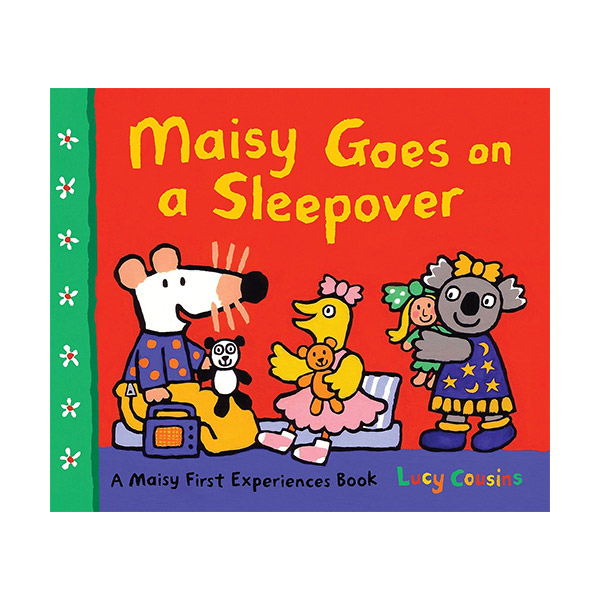 Maisy Goes on a Sleepover : A Maisy First Experience Book (Paperback)