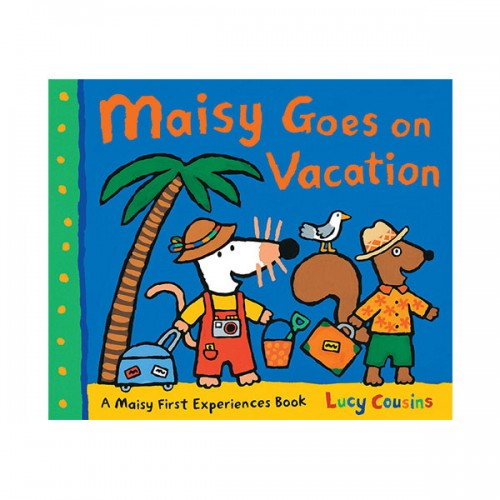 Maisy Goes on Vacation : A Maisy First Experience Book (Paperback)