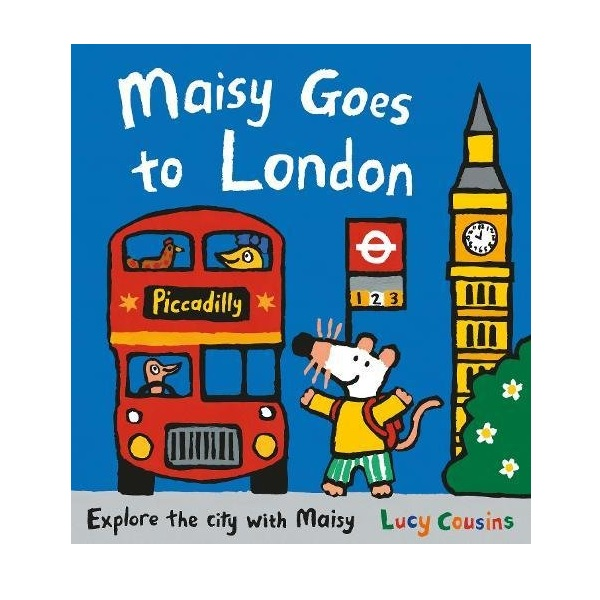 Maisy Goes to London (Paperback)