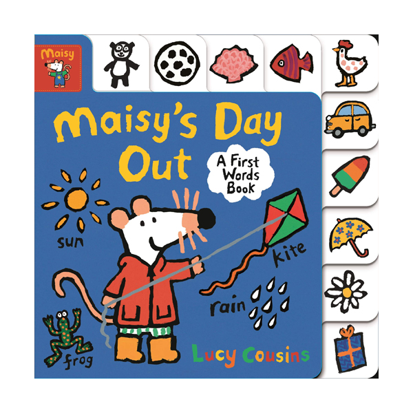 Maisy's Day Out : A First Words Book (Board book)