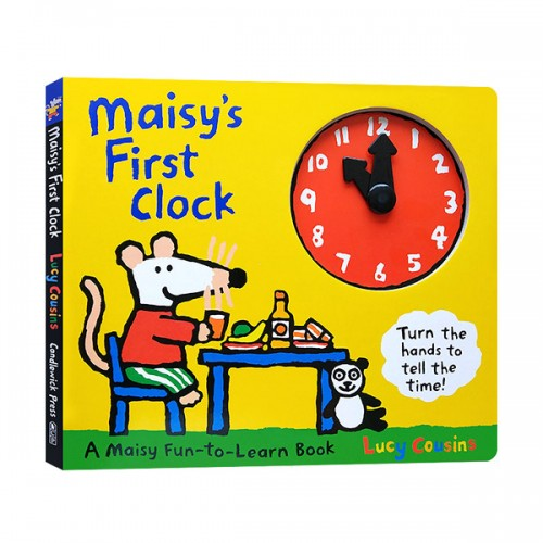 [베스트★] Maisy's First Clock (Board Book, 미국판)