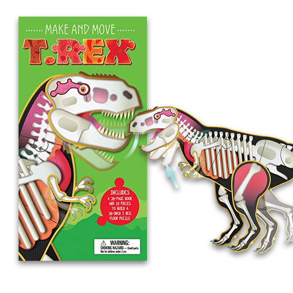 Make and Move : T Rex (Hardcover)
