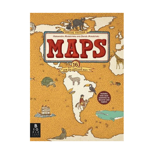 Maps (Hardcover, Special Edition, 영국판)