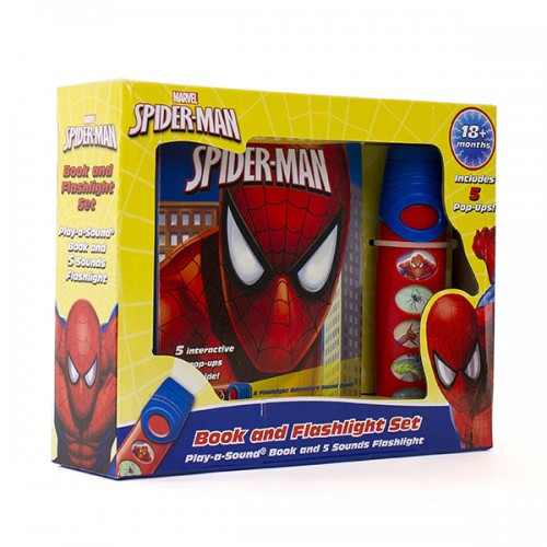 Marvel Spider-Man: Book and Flashlight Set (Hardcover, Sound Book)
