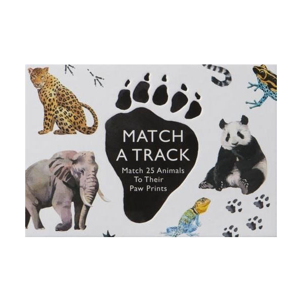 Match a Track : Match 25 Animals to Their Paw Prints (Hardcover, 영국판)