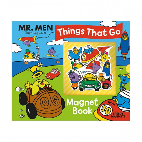 Mr. Men: Things That Go Magnet Book (Hardcover)
